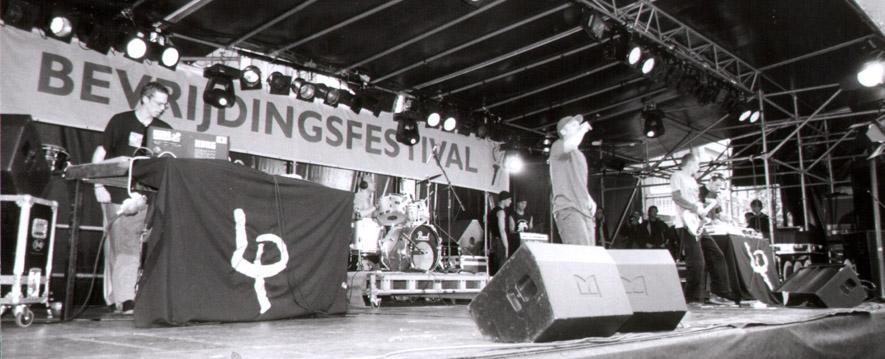 Longplayers live @ Bevrijdingsfestival Rotterdam
